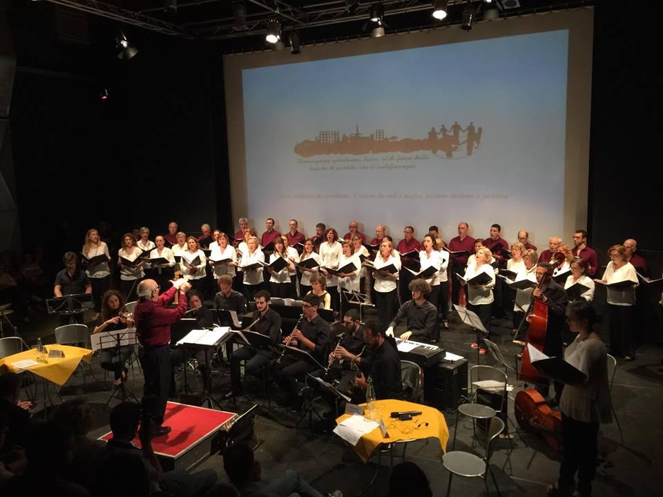 Concerto al Teatro Zo, Catania, 7 giugno 2017 per il Trentennale di CITTA'INSIEME