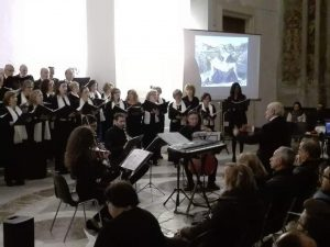 """11 Aprile 2017 Concerto di Quaresima """" Immagini, Parole, Suoni, sulla Passione di Cristo Chiesa S.Nicolò La Rena"""