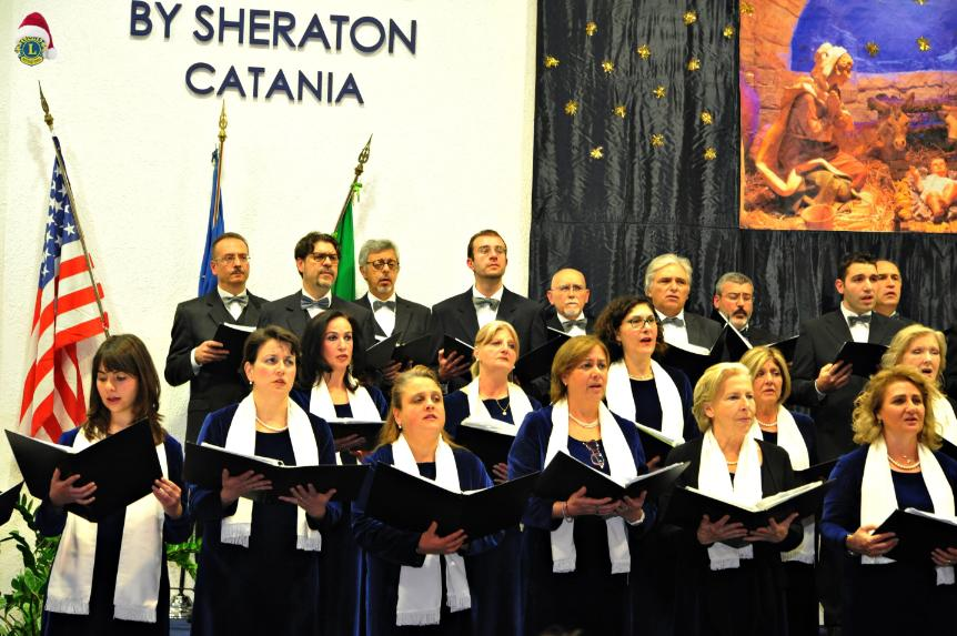 Concerto allo Sheraton Hall per LIONS CLUB Catania 16 Dicembre 2016