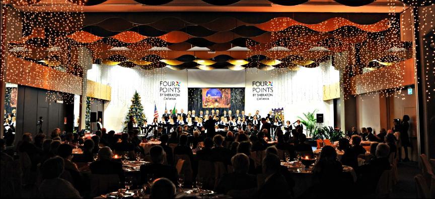 Concerto allo Sheraton Hall per LIONS CLUB Catania,16 Dicembre 2016