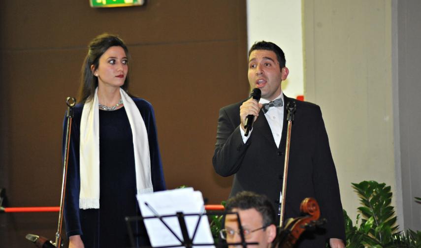 Ines Tomaselli e Vincenzo DiMauro