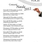 Concerti Natale 2012